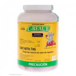 C-REAL B PARAFINADO BLOCK 10gr Bromadiolona BOTE 1 KG
